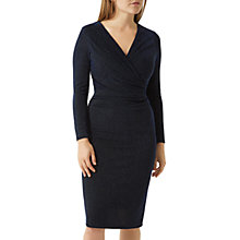 Buy Fenn Wright Manson Petite Sienna Dress, Black/Blue Online at johnlewis.com