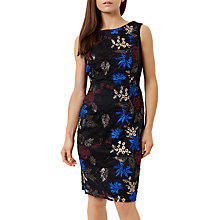 Buy Fenn Wright Manson Petite Lulu Sleeveless Shift Dress, Black/Multi Online at johnlewis.com