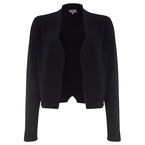 Buy Phase Eight Terra Smart Knit Cardigan, Navy | John Lewis