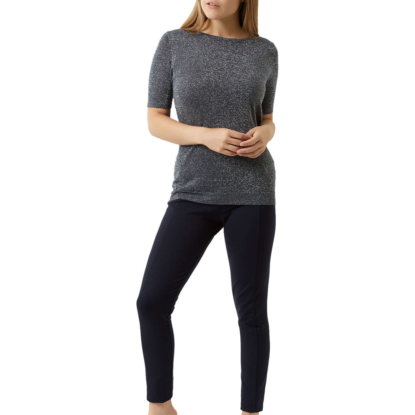 BuyFenn Wright Manson Petite Penny Jumper, Slate, S Online at johnlewis.com