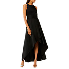 Buy Coast April Belted Soft Dress, Black Online at johnlewis.com
