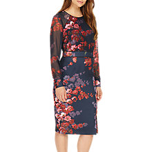 Buy Phase Eight Callie Floral Pencil Dress, Midnight/Multi Online at johnlewis.com