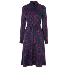 Buy L.K. Bennett Lia Shirt Dress, Rosehip Online at johnlewis.com