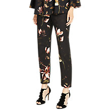 Buy Phase Eight Kailey Printed Trousers, Multi Online at johnlewis.com