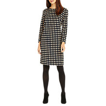 Buy Phase Eight Steph Square Tunic Dress, Camel/Black Online at johnlewis.com
