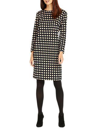 c26008808249a Phase Eight Steph Square Tunic Dress, Camel/Black
