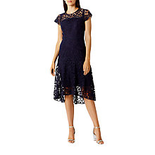 Buy Coast Candice Lace Dress, Navy Online at johnlewis.com