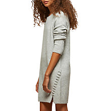 Buy Miss Selfridge Petite Jumper Dress, Light Grey Online at johnlewis.com