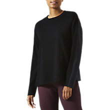 Buy Jigsaw Athleisure Technical Knit Side Zip Jumper Online at johnlewis.com