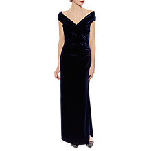 Buy Gina Bacconi Cassandra Velvet Maxi Dress Online at johnlewis.com