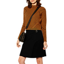 Buy Karen Millen Crepe Separates Skirt, Black Online at johnlewis.com