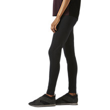 Buy Jigsaw Athleisure Seam Detail Leggings, Black Online at johnlewis.com