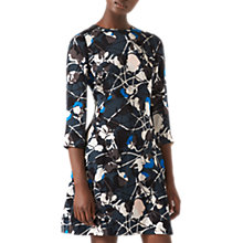 Buy Jigsaw Thistle Iris Dress, Midnight Green Online at johnlewis.com