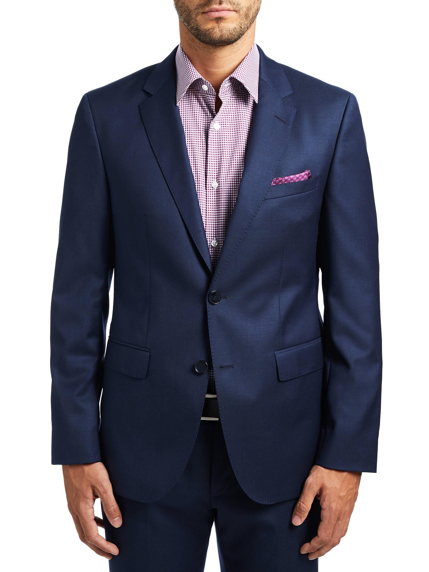 BuyHUGO by Hugo Boss C-Jeffery Wool Micro Pattern Regular Fit Suit Jacket bd0e02e3230