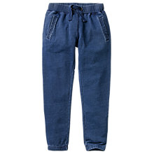 Buy Fat Face Children's Indigo Joggers, Blue Online at johnlewis.com