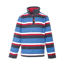 Buy Fat Face Children's Jamie Striped Top, Blue Online at johnlewis.com