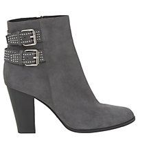 Buy Mint Velvet Lexi Block Heeled Ankle Boots, Dark Grey Online at johnlewis.com