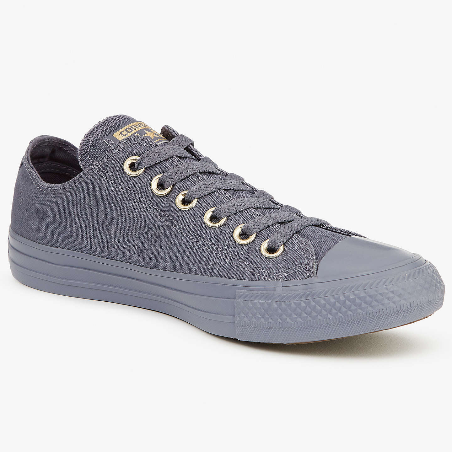 BuyConverse Chuck Taylor All Star Women's Tonal Sole Low-Top Trainers, Carbon, 3 Online at johnlewis.com