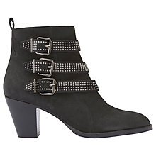 Buy Mint Velvet Frankie Block Heel Ankle Boots Online at johnlewis.com
