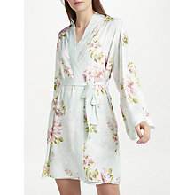 Buy John Lewis Cassie Floral Print Kimono, Green/Multi Online at johnlewis.com