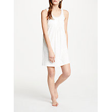 Buy John Lewis Skye Heart Print Chemise, Ivory/Grey Online at johnlewis.com