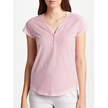 Buy John Lewis Henley Short Sleeve Pyjama Top Online at johnlewis.com