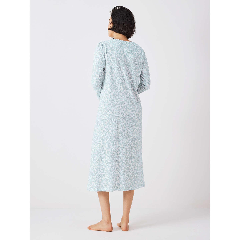 John Lewis Frieda Print Long Sleeve Nightdress, /