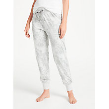 Buy John Lewis Inga Jersey Pyjama Bottoms, Grey Online at johnlewis.com