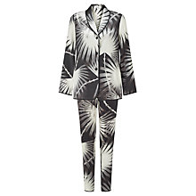 Buy Somerset by Alice Temperley Palm Print Silk Pyjama Set Online at johnlewis.com