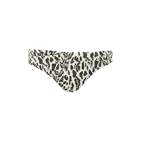 Buy John Lewis Sinai Leopard Twist Bikini Briefs, Multi Online at johnlewis.com
