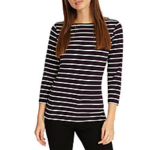 Buy Phase Eight Stella Stripe Top Online at johnlewis.com