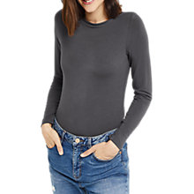Buy Oasis Plain Envelope Neck Top Online at johnlewis.com