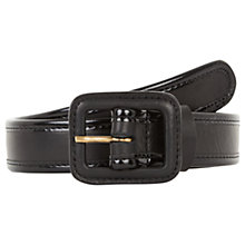 Buy Gerard Darel Jules Leather Belt, Black Online at johnlewis.com