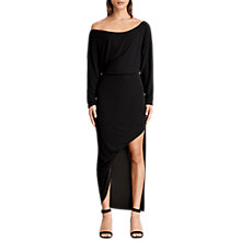 Buy AllSaints Evon Dress, Black Online at johnlewis.com