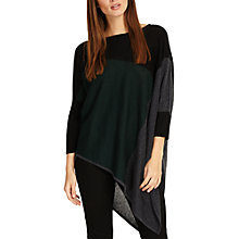 Buy Phase Eight Melinda Three Colour Asymmetric Jumper Online at johnlewis.com