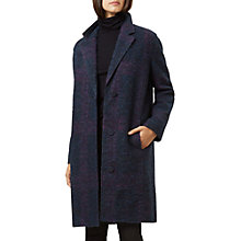 Buy Hobbs Julie Coat, Purple Online at johnlewis.com