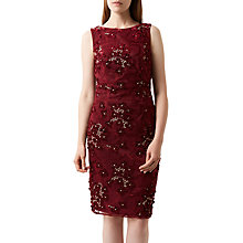 Buy Fenn Wright Manson Magnolia Dress, Burgundy Online at johnlewis.com