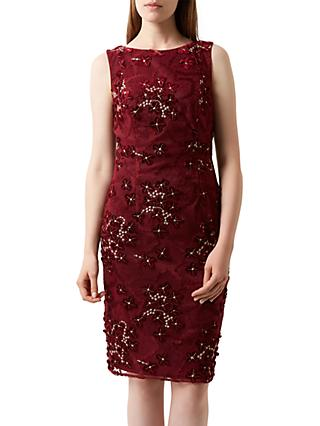 Fenn Wright Manson Magnolia Dress, Burgundy
