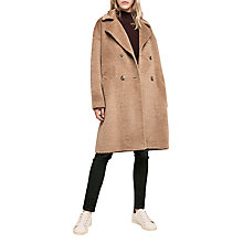 Buy Gerard Darel Guy Wool Blend Coat, Camel Online at johnlewis.com
