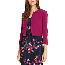 Buy Phase Eight Annie Jacket, Magenta Online at johnlewis.com