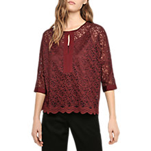 Buy Gerard Darel Bayle Lace Blouse Online at johnlewis.com