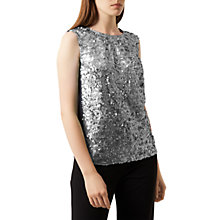 Buy Fenn Wright Manson Caroline Top, Silver/ Grey Online at johnlewis.com