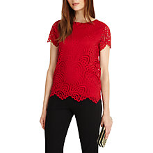 Buy Phase Eight Tessa Lace Top Online at johnlewis.com