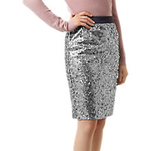 Buy Fenn Wright Manson Caroline Skirt, Silver/Grey Online at johnlewis.com