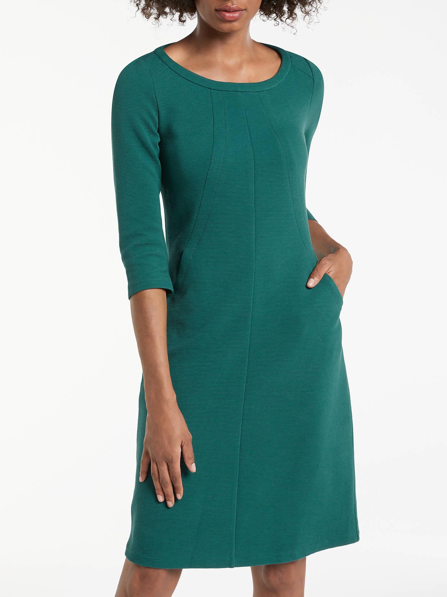 411d7999e3a Buy Boden Hannah Jersey Dress, Deep Forest, 8 Online at johnlewis.com ...