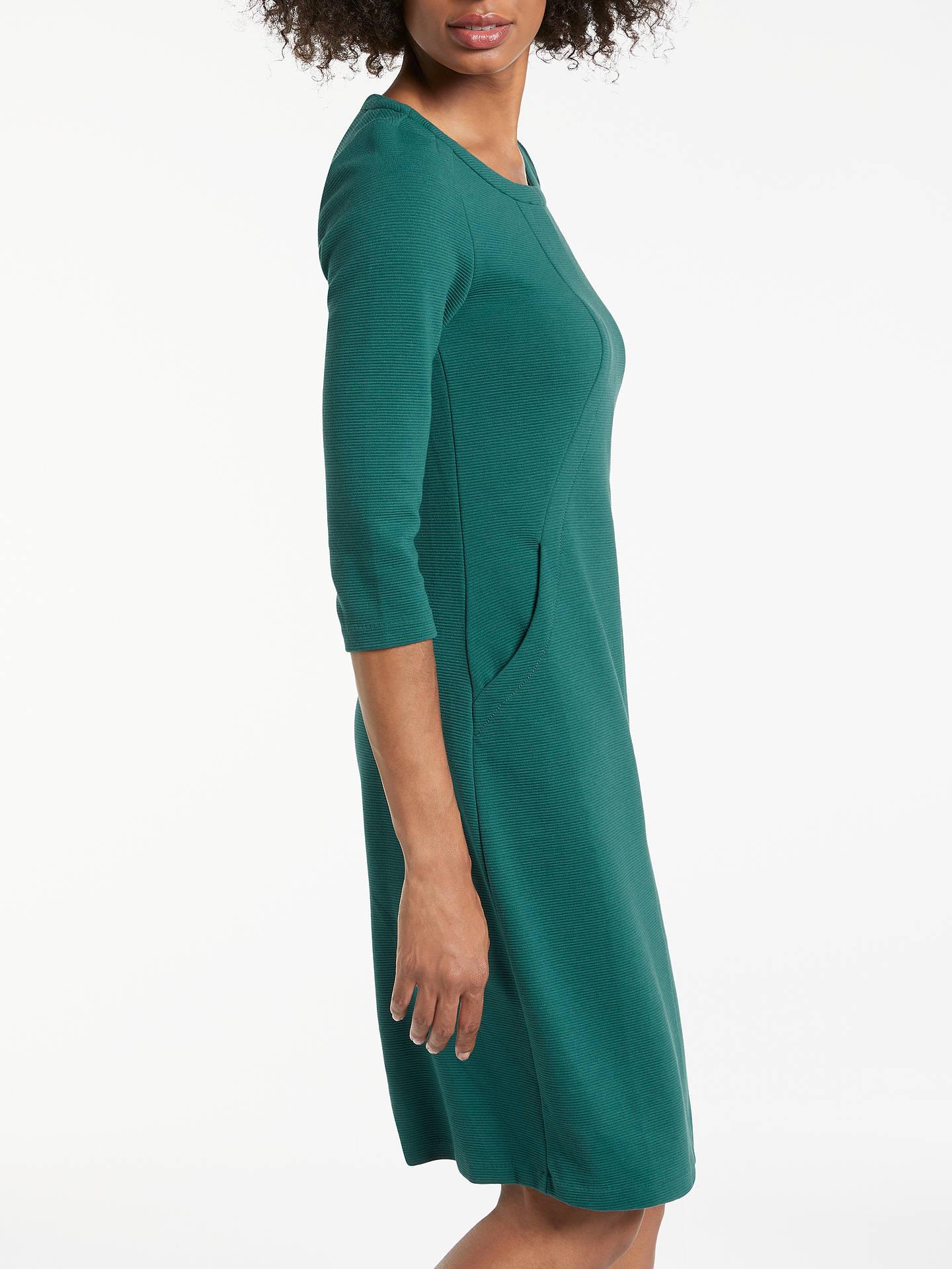 59608f5f39b ... Buy Boden Hannah Jersey Dress, Deep Forest, 8 Online at johnlewis.com