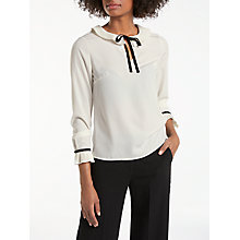 Buy Boden Frieda Top, Ivory Online at johnlewis.com