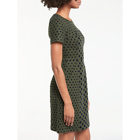 Buy Boden Kathryn Dress, Fell Green Online at johnlewis.com