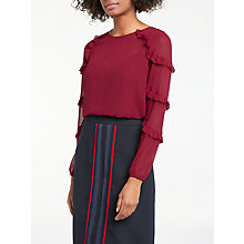 Buy Boden Emily Top, Wine Online at johnlewis.com