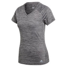 Buy adidas FreeLift Short Sleeve Training T-Shirt, Grey Online at johnlewis.com